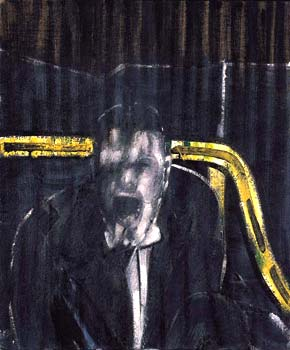 Francis Bacon - Study for a portrait man screaming, 1952