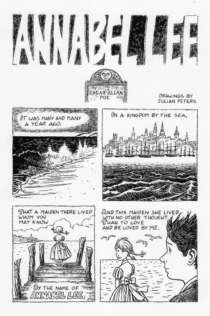 Annabel Lee, edgar a. poe