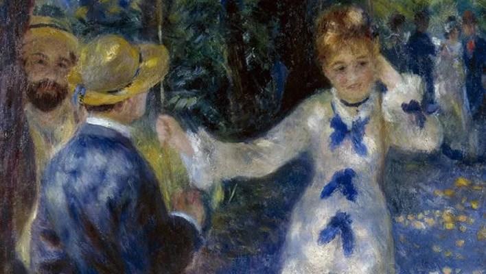 Pierre-Auguste Renoir, L'altalena (particolare), 1876, olio su tela © Musée d'Orsay, dist. RMN-Grand Palais / Patrice Schmidt