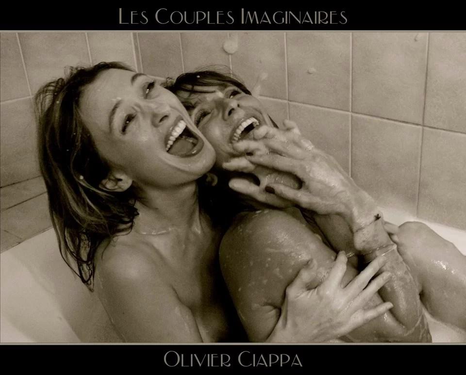 Couples imaginaire femmes bagnoire