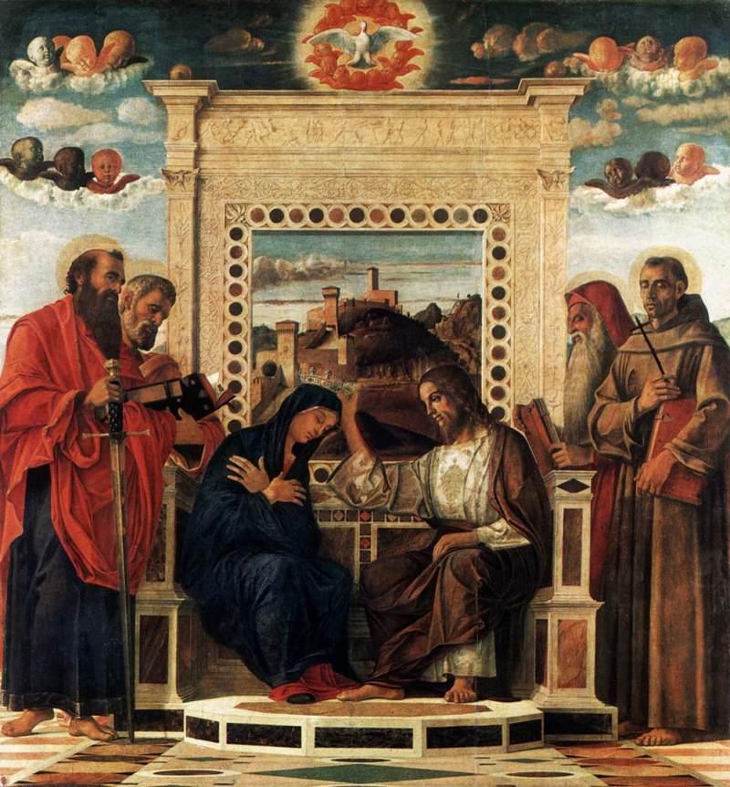 Giovanni Bellini, Incoronazione della Vergine