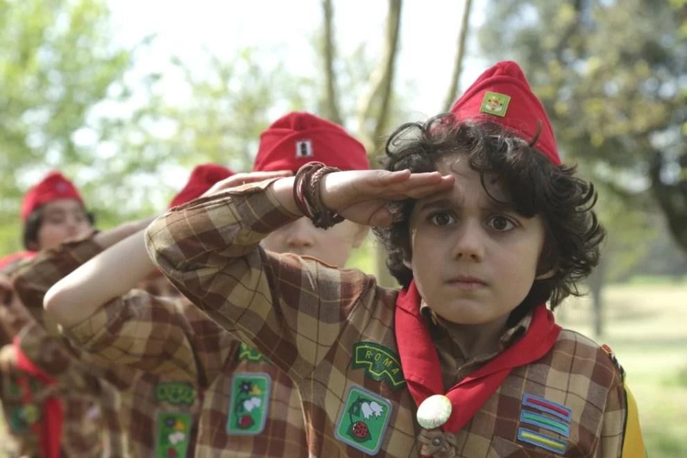 "Leonardo Zuliani, ""antisemita genetico"", da bambino"