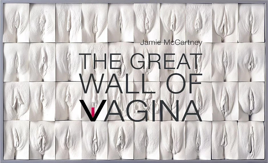 The Great Wall Of Vagina © Jamie McCartney