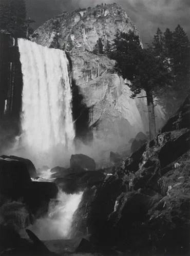 Ansel Adams, 1948, Vernal Fall