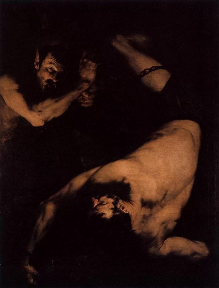 Il Supplizio infinito: <br>l'Issione di Jusepe de Ribera