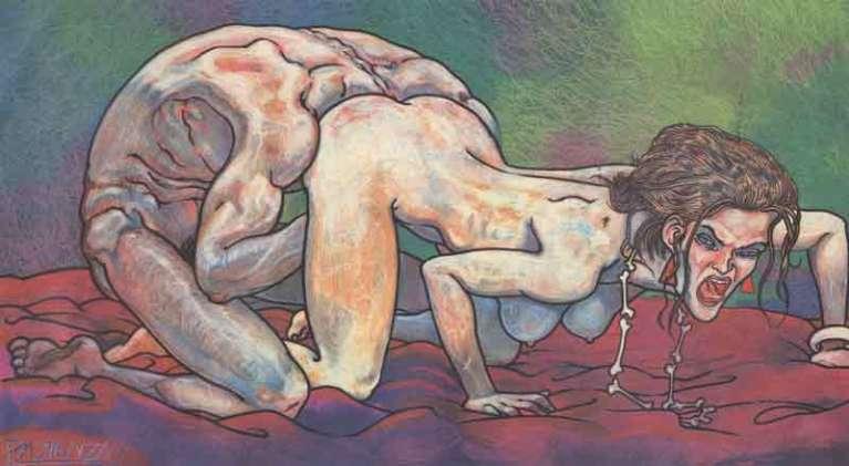 L'erotismo burlesco di Andrea Pazienza