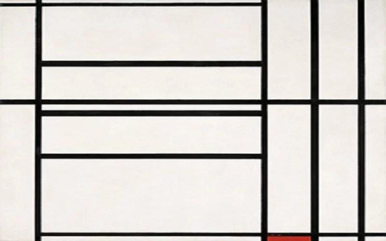 """""""Composizione"""" di Piet Mondrian: la purezza delle forme tra arte e matematica"""