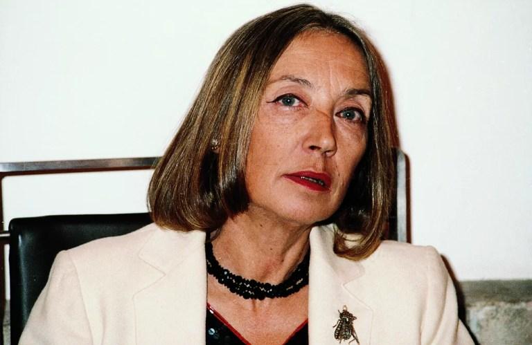 Il peccato di sottovalutare Oriana Fallaci, le sue opere, il suo pensiero