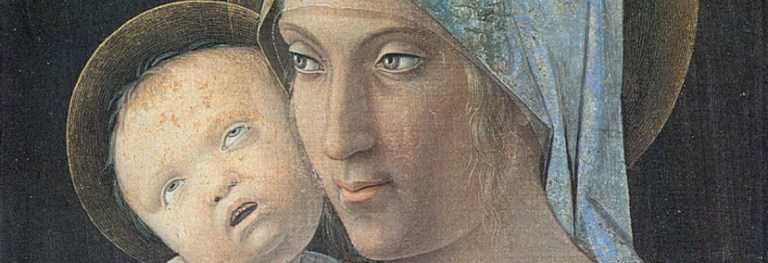 Lo sguardo fiero della Vergine del Mantegna