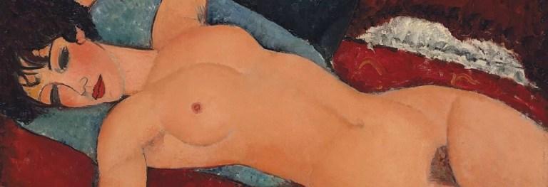 «Nudo sdraiato» di Amedeo Modigliani: cronaca di uno scandalo