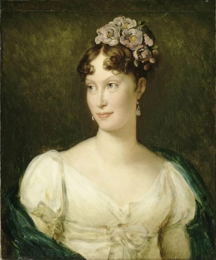 Maria Luisa, imperatrice dei francesi, ritratta da François Gérard