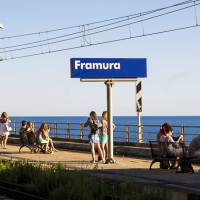 How to visit Framura arriving by train