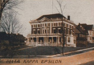The Former Delta Kappa Epsilon Chapter House at Syracuse University