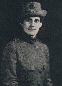 Dr. May Agness Hopkins in uniform