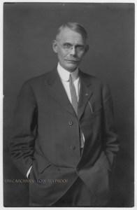 Thomas Arkle Clark, circa 1910. Photo courtesy of the University of Illinois Archives)