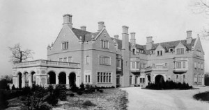 Laurel Hall, home of Phi Kappa Psi Fraternity, as it appeared in 1917 (Courtesy of Illinois Historical Society)