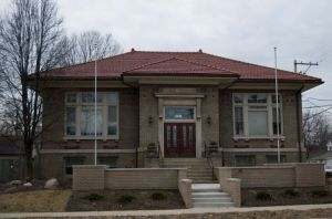 Triangle Fraternity Headquarters, Plainfield, Indiana.