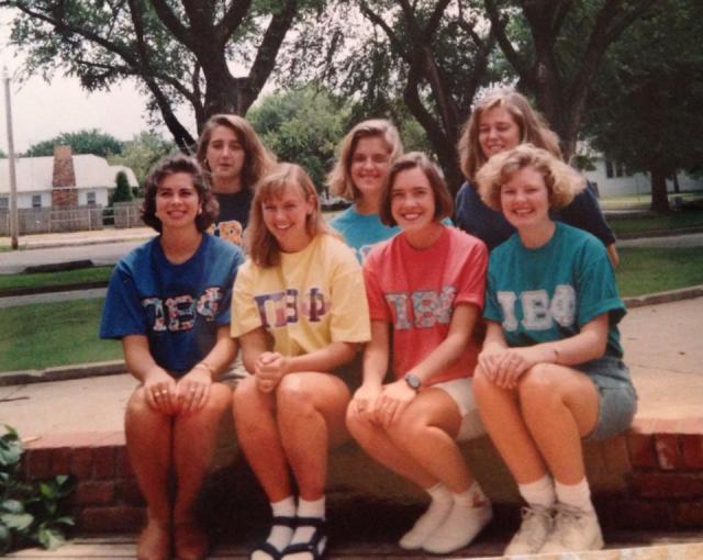 Pi Beta Phi Consultants during training at the Oklahoma Beta house at Oklahoma State University.