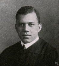 Julian H. Lewis, 1917 Graduation from the University of Chicago (courtesy of the University of Chicago Archives)