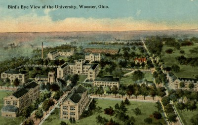 Postcard_of_Birds_Eye_View_of_The_College_of_Wooster_Campus_addressed_to_Agnes_E_Scott_recto