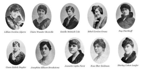 Phi Sigma Sigma founders