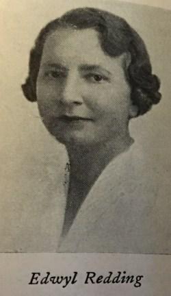 Edwyl Reddings, 1940s