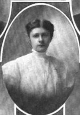 Persis Dwight Hannah (Photo courtesy of the Tufts College Graduate 1908)