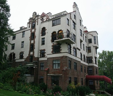In 1940, Johnston lived in the Wetherell apartments at 4024 Grand Avenue in Des Moines, just a few blocks where P.E.O. International Headquarters was built in the late 1960s.