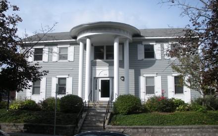 The former Coddington home as it looks today. Photo courtesy of Syracuse University.