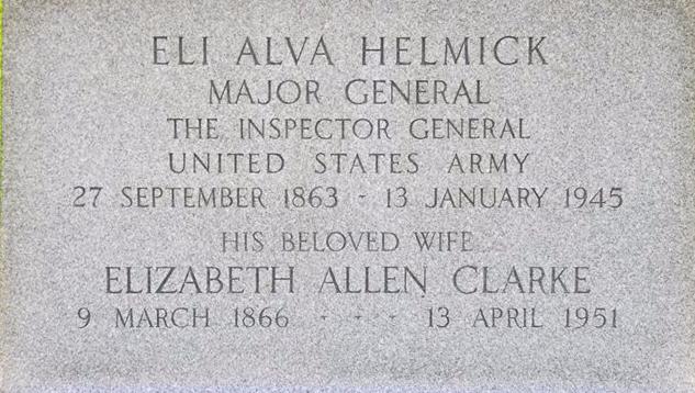 helmick grave