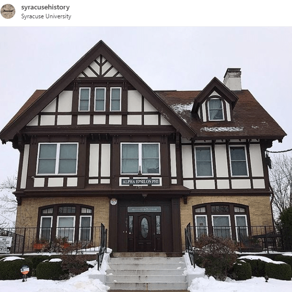 A Glimpse at Syracuse's Fraternity and Sorority Houses