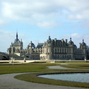chateau de chantilly garden