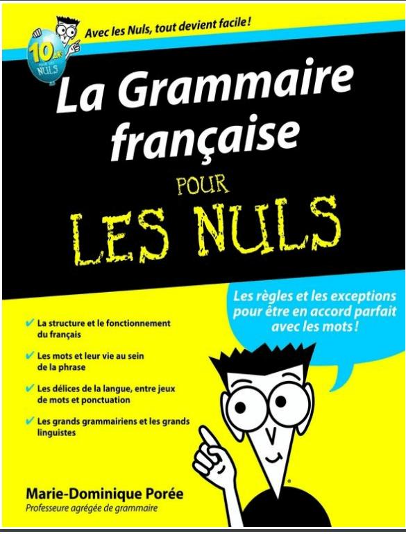 télécharger la grammaire française pour les nuls pdf gratuit
