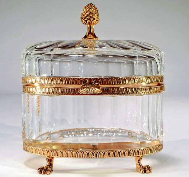 Crystal Box Crystal Jewelry Box Luxury Crystal Box Hand