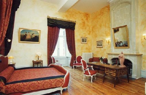 Chambre Hte Charme Chateau Loire Saumur Fontevraud Loudun