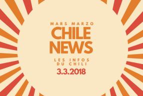 Chile News Marzo – Mars !