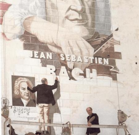 Streetart à Paris avec Fabio Rieti et Pixel Art !