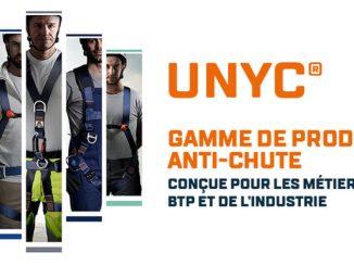 Harnais de sécurité anti chute EPI travail en hauteur produit gamme UNYC Tubesca Comabi