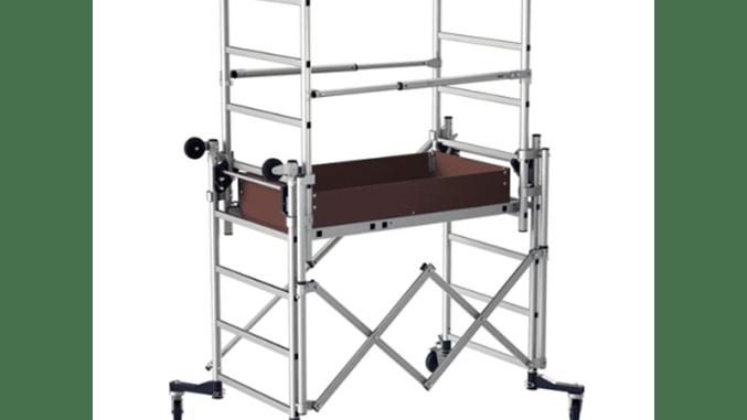 Les équipements de hauteur pour plombier échafaudage roulant artisan