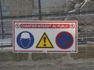 Gardiennage de chantier BTP surveillance travaux vol vandalisme