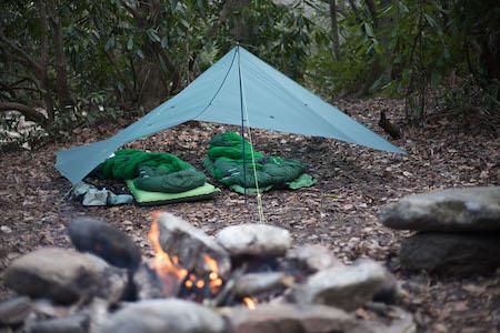 une tente pour le bikepacking