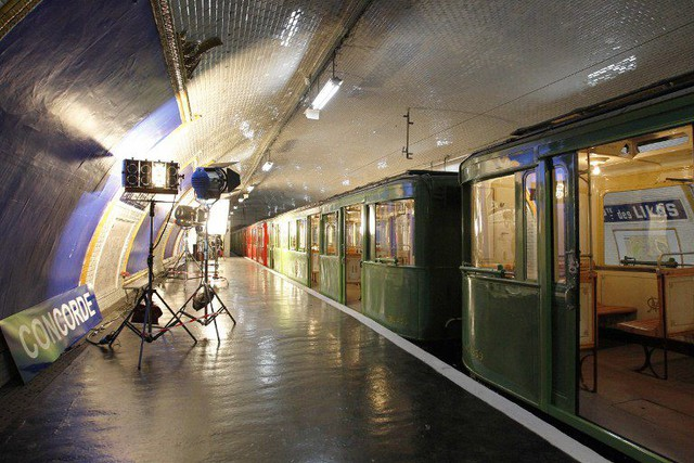 20 Interesting Facts About Paris You Didn t Know About Paris metro s ghost stations  The metro station  Porte des Lilas