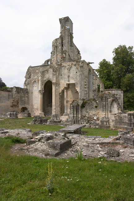 Church Ruins Chaalis Abbey France In Photos