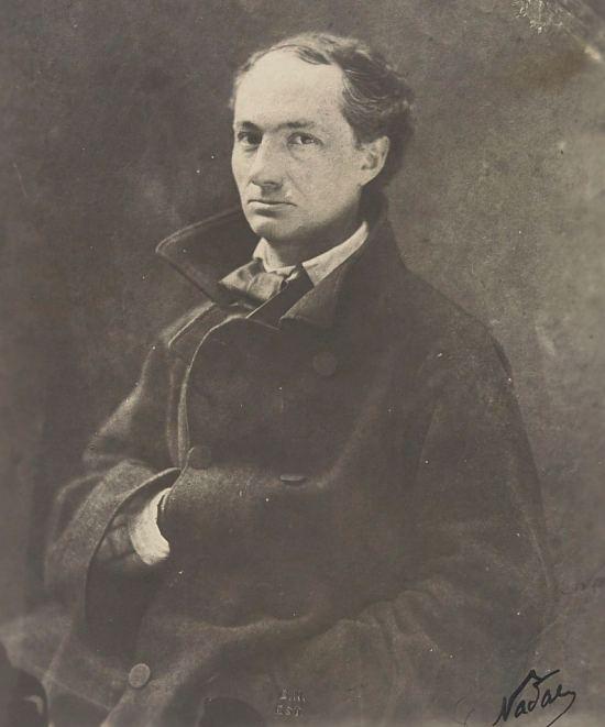 Charles Baudelaire. Photographie de Nadar