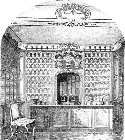 Intérieur de la pharmacie Jacques