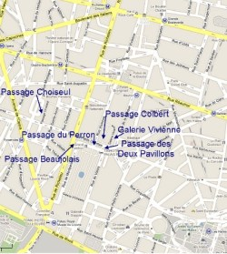 Passages Palais Royale Gardens