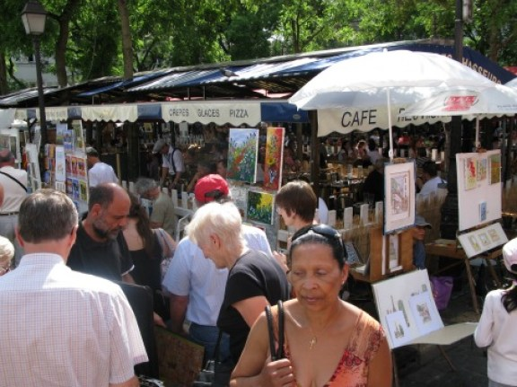Place Tertre Artists Market budget paris