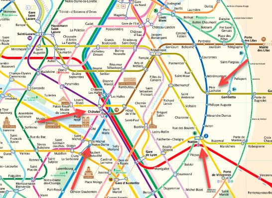 Paris Subway Map English.Paris Metro