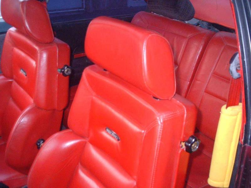 Troc Echange Cuir RECARO 205 GTI Gutmann Sur