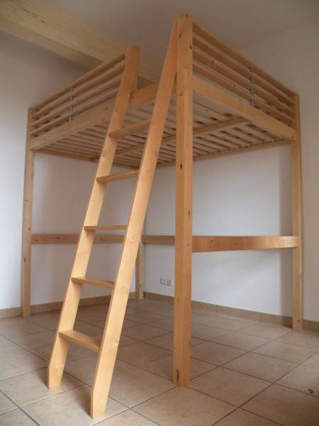 Troc Echange Lit Mezzanine IKEA 2 Personnes Sur France